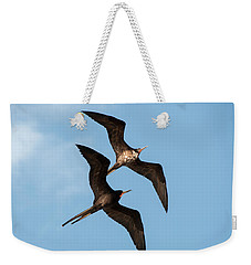 Frigates At Isla Mujeres Weekender Tote Bag