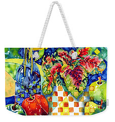 Fruit And Coleus Weekender Tote Bag
