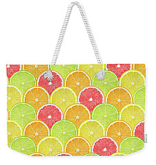 Fresh Fruit  Weekender Tote Bag by Mark Ashkenazi