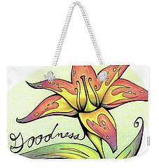 Fruit Of The Spirit Series 2 Goodness Weekender Tote Bag