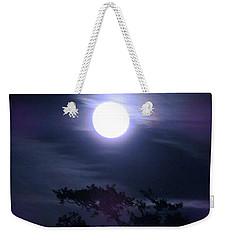 Full Moon Falling Weekender Tote Bag