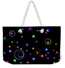 Weekender Tote Bag featuring the photograph Galaxy X by Mark Blauhoefer