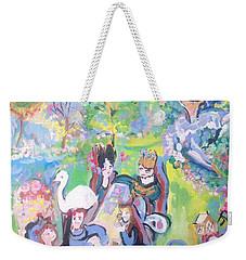 Garden Party  Weekender Tote Bag by Judith Desrosiers