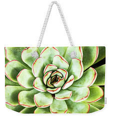 Weekender Tote Bag featuring the photograph Garden Variety by Jessica Manelis