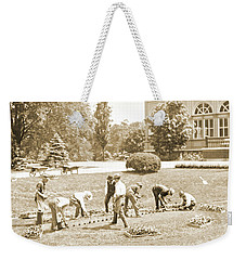 Gardeners, Centennial Exposition, 1876 Weekender Tote Bag