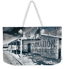 Weekender Tote Bag featuring the photograph General Store by Wayne Sherriff