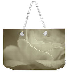Weekender Tote Bag featuring the photograph Gentle Rose by The Art Of Marilyn Ridoutt-Greene