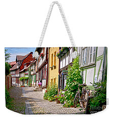 German Old Village Quedlinburg Weekender Tote Bag
