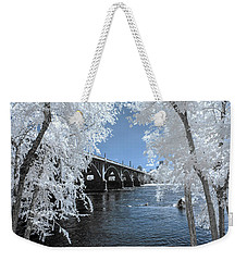 Gervais St. Bridge In Surreal Light Weekender Tote Bag