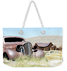 Ghost Town Cruiser Weekender Tote Bag by Steve McKinzie