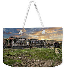 Weekender Tote Bag featuring the photograph Ghost Train by Scott Read