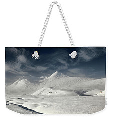 Weekender Tote Bag featuring the photograph Glencoe Winter Landscape by Grant Glendinning