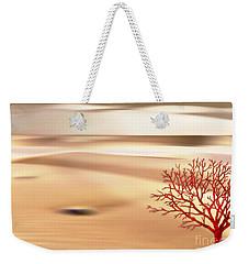 Weekender Tote Bag featuring the digital art Global Warming by Klara Acel
