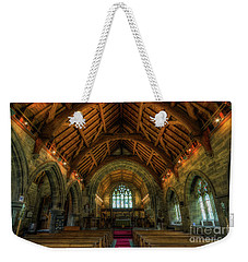 Gods Light Weekender Tote Bag by Ian Mitchell