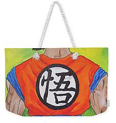 Goku Kanji Weekender Tote Bag