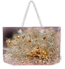 Golden Flower Weekender Tote Bag