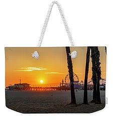 Golden Glow At Sunset Weekender Tote Bag