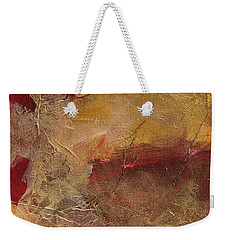 Golden Ruby Weekender Tote Bag