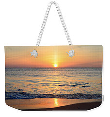 Weekender Tote Bag featuring the photograph Golden Sunrise  by Barbara Ann Bell