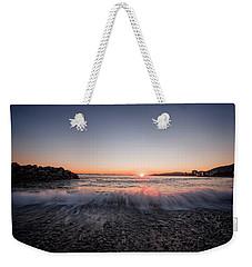 Kiss Of The Night Weekender Tote Bag