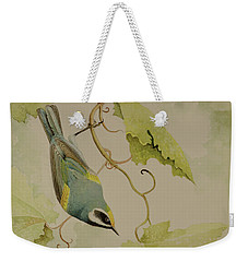 Golden-winged Warbler Weekender Tote Bag