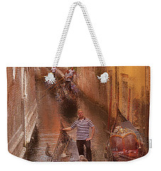 Gondola, Venice Italy Weekender Tote Bag by George Robinson