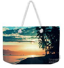 Good Morning Fiji Weekender Tote Bag