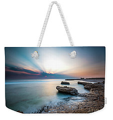 Good Morning Red Sea Weekender Tote Bag