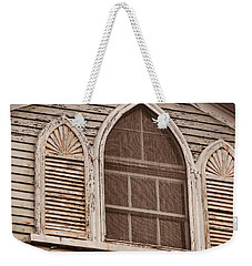 Gothic Window Weekender Tote Bag by JAMART Photography