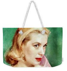 Grace Kelly By John Springfield Weekender Tote Bag