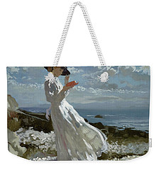 Grace Reading At Howth Bay Weekender Tote Bag