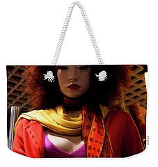 Colored Girl Weekender Tote Bag