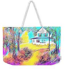 Grandma's House Weekender Tote Bag