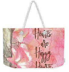 Grateful Hearts Weekender Tote Bag