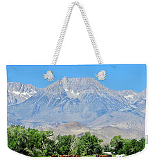 Grazing Weekender Tote Bag by Marilyn Diaz