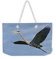 Great Blue Heron Flight 2 Weekender Tote Bag