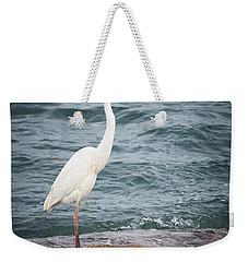 Great White Heron Weekender Tote Bag by Elena Elisseeva