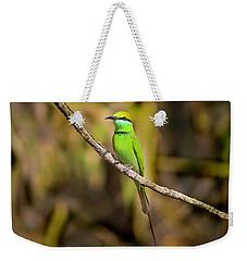 Green Bee-eater Weekender Tote Bag