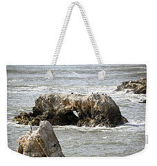 Weekender Tote Bag featuring the photograph Grey Water At Window Rock by Barbara Snyder