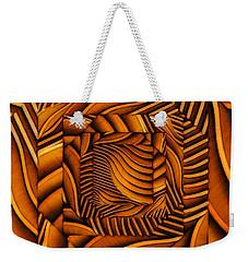 Weekender Tote Bag featuring the digital art Groovy by Ron Bissett