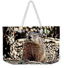 Groundhog Weekender Tote Bag by Marvin Blaine