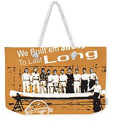 Grumman Canoe Weekender Tote Bag
