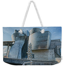 Guggenheim Museum Bilbao Spain Weekender Tote Bag by James Hammond