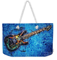 Guitar Love Weekender Tote Bag by Ian Mitchell