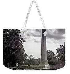 Weekender Tote Bag featuring the photograph Gwaltney Cemetery  by Melissa Messick