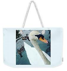 Hakucho Means Swan  Weekender Tote Bag