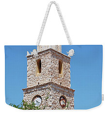 Halki Clock Tower Weekender Tote Bag