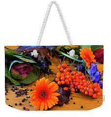 Halloween Decoration Weekender Tote Bag