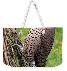 Handsome Pose Weekender Tote Bag