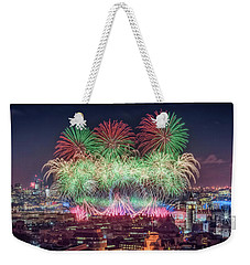 Happy 2018 Weekender Tote Bag